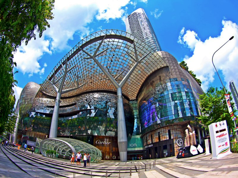 ION-Orchard singapore itinerary 4 days what to do in singapore in 4 days