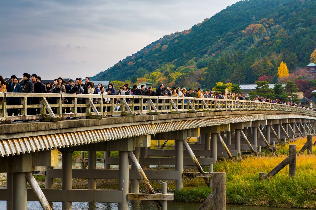 Arashiyama3 Credit: best places to see autumn leaves in Kyoto blog.