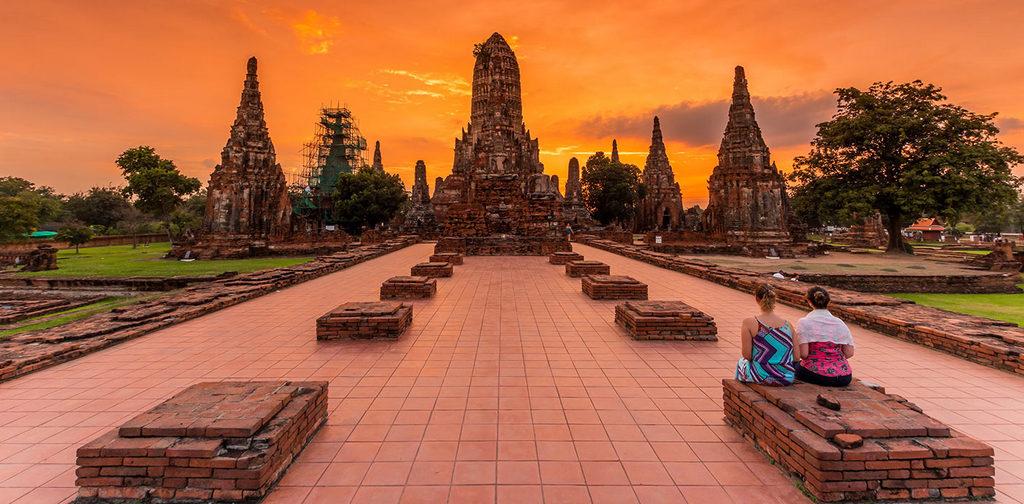 Ayutthaya_history_temlpes_Thailand