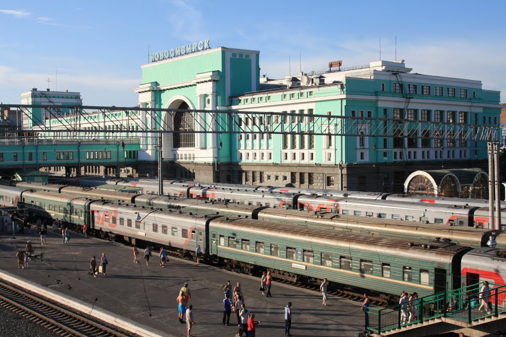 Railway Station of Novosibirsk