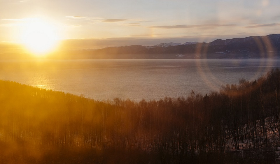 The Trans-Siberian Train SUNRISE