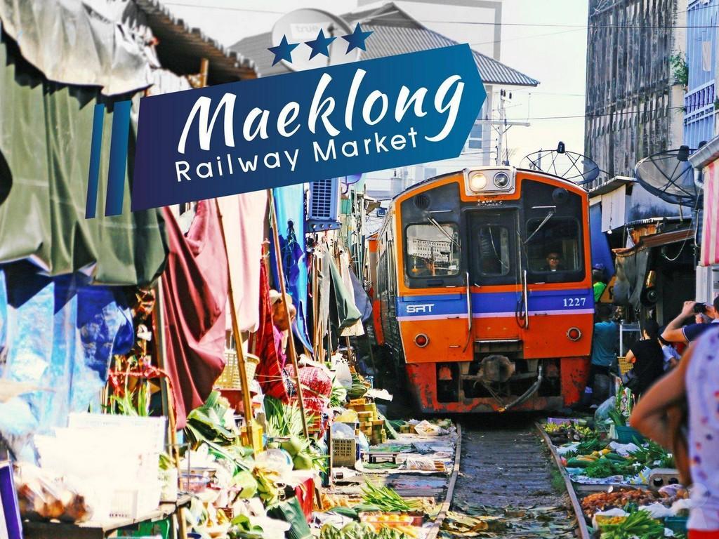 Lots of veggies at Maeklong Railway Market maeklong railway market bangkok