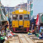 Explore Maeklong Railway Market — The famous market in Bangkok, Thailand