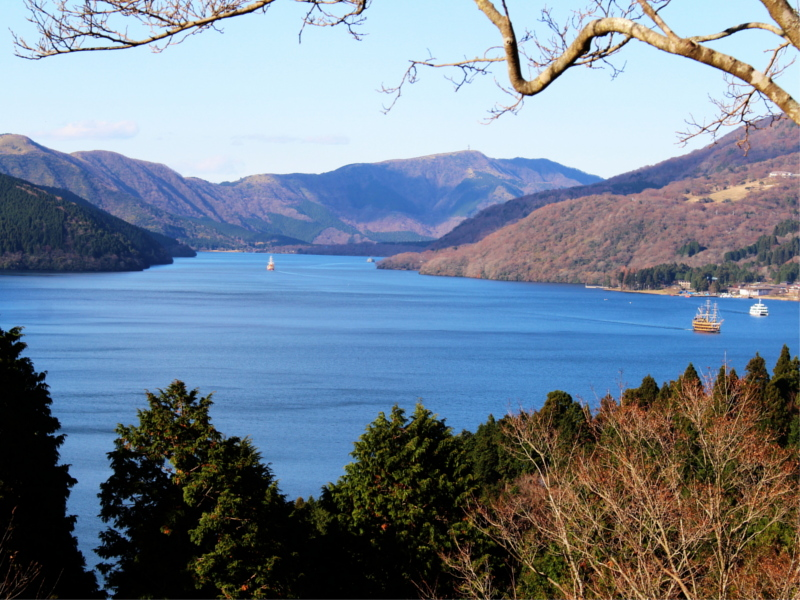 Ashinoko Lake Japan 8
