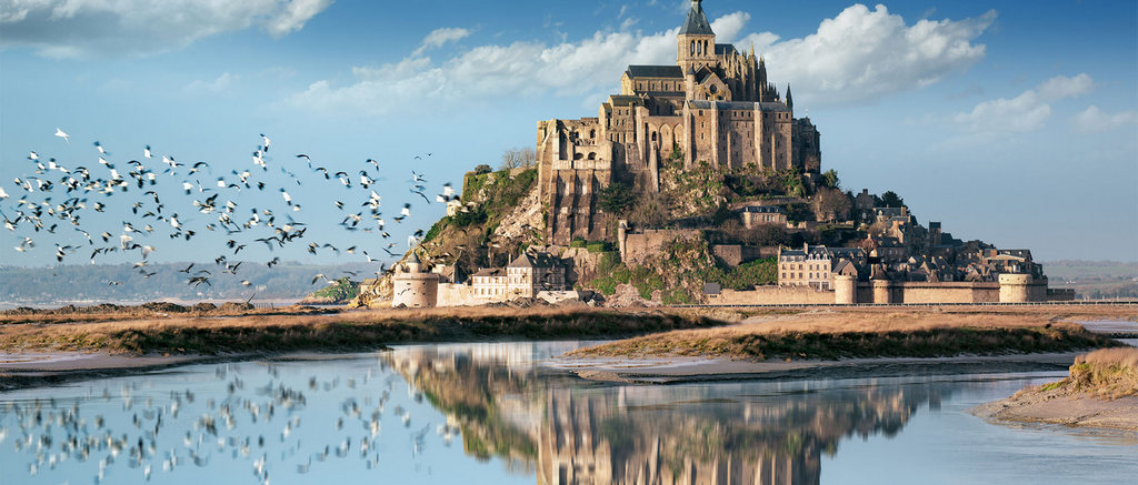 Mont Saint-Michel church, France-3