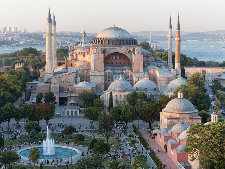 Hagia Sophia, Istanbul,Turkey-9 famous churches in europe beautiful churches in europe
