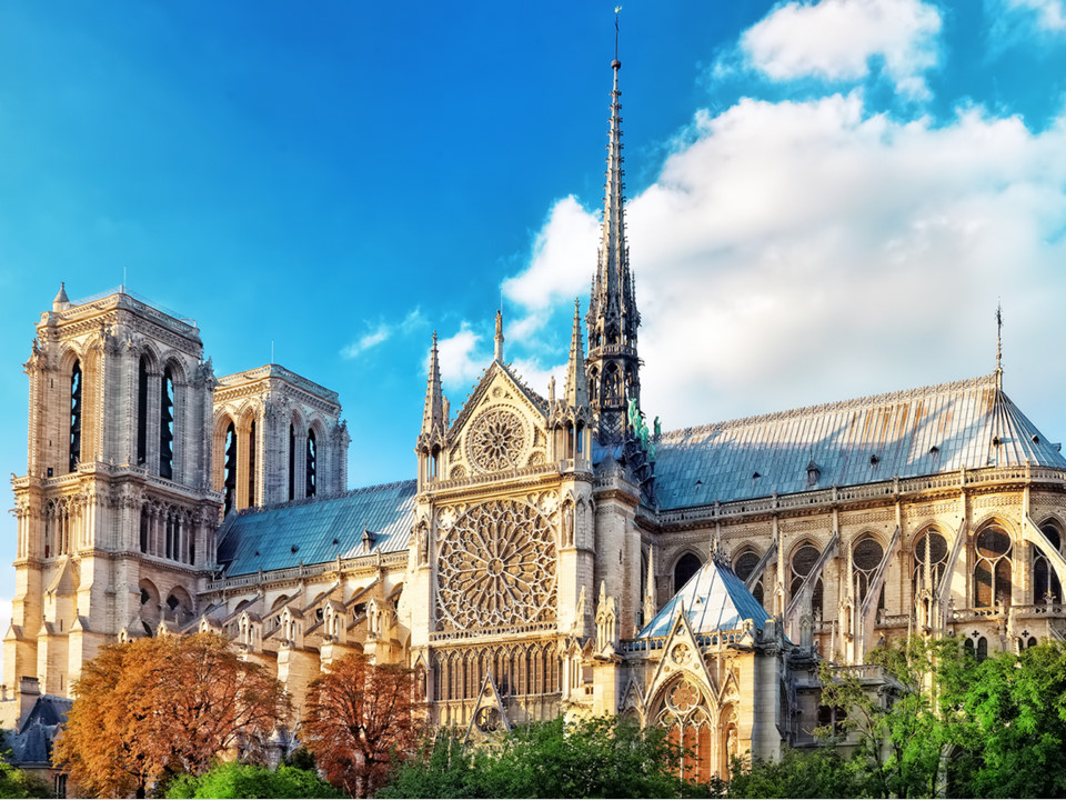 Notre-Dame Cathedral, Paris, France-15 famous churches in europe beautiful churches in europe