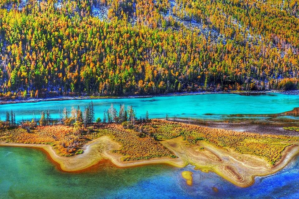Xinjiang tarim river