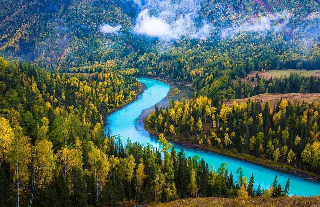 tarim river Image: xinjiang travel guide blog.