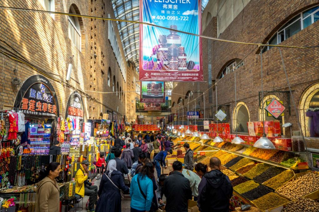 Urumqi Grand Bazaar, China