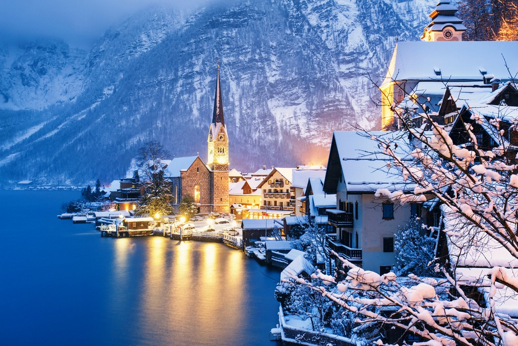 Hallstatt village 1