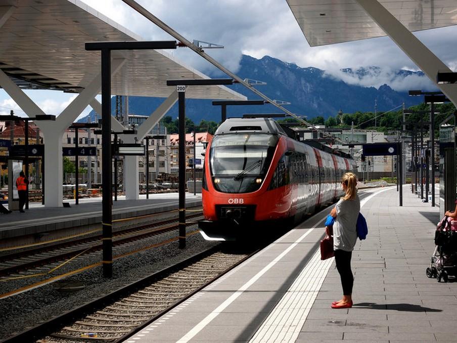 Salzburg Hauptbahnhof train station 1