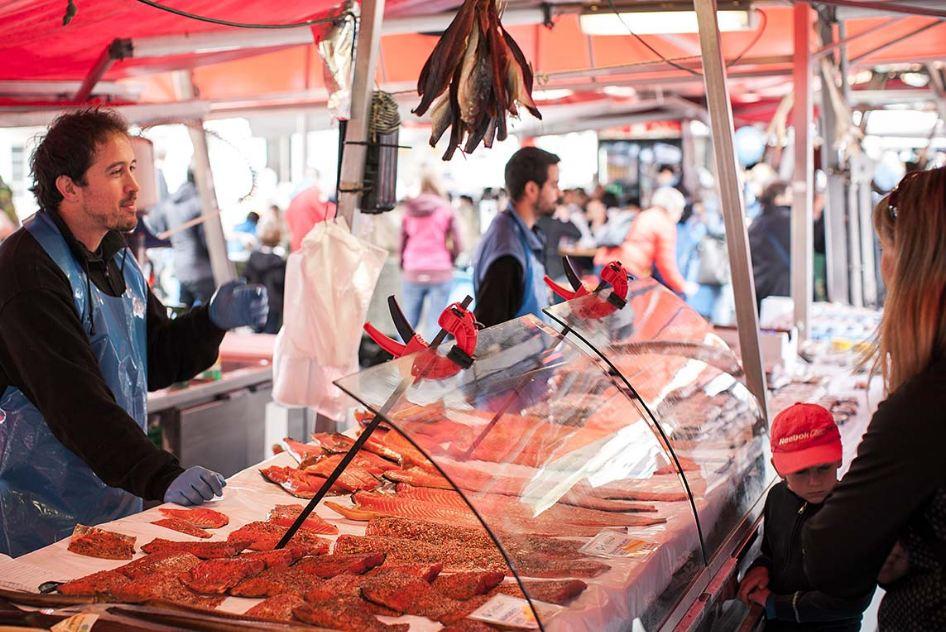 Bryggen fish market