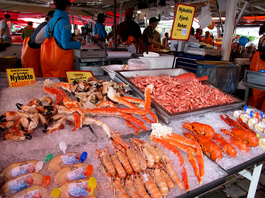 Bryggen fish market1