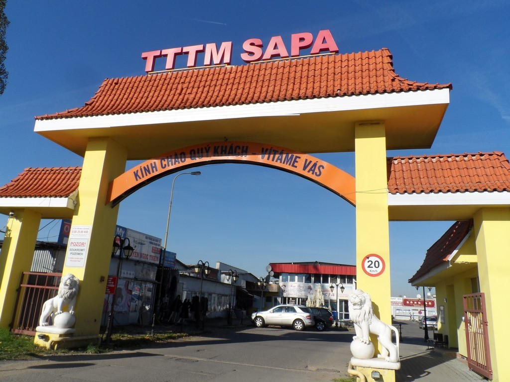 Sapa Market (Sapa Trade Center) of Vietnamese
