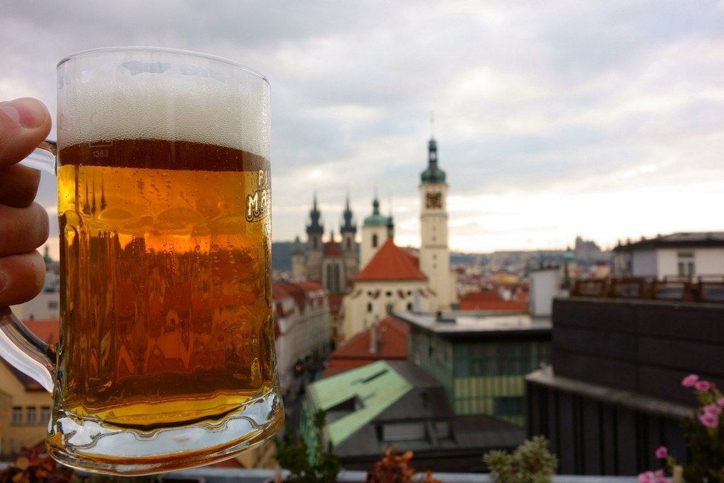 Czech is famous for its cuisine and drink, especially for beer