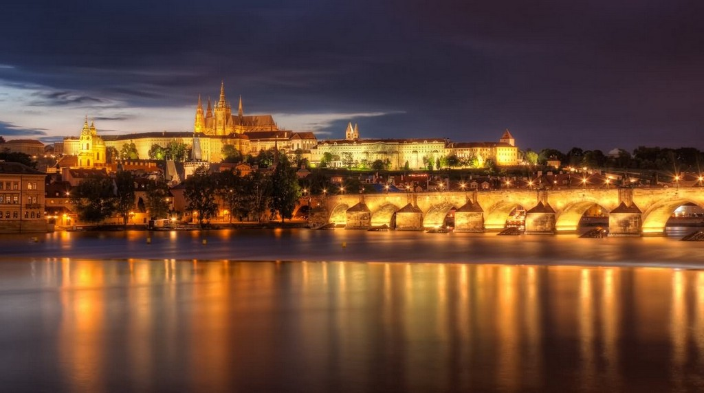"Prague is known as the ""golden city"""