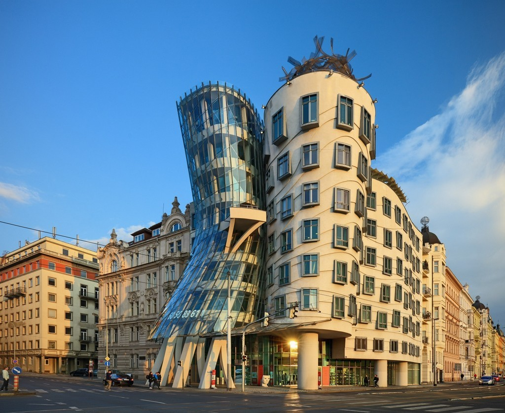 The dancing house, one of the most exciting experiences in Prague prague travel blog prague trip blog