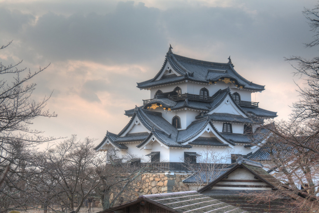 Japanese ancient castle 30