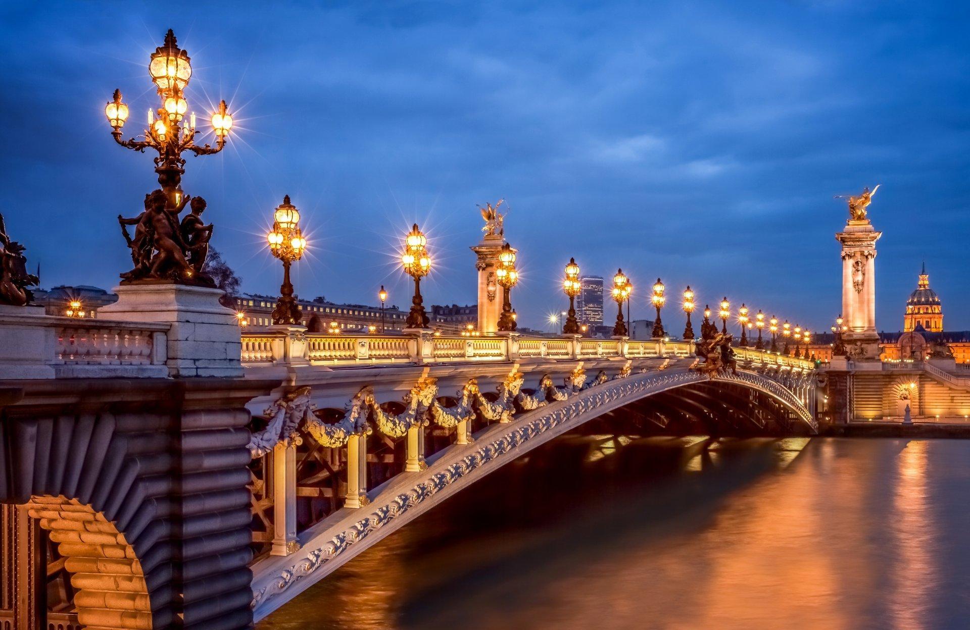 Alexandre III Bridge 1 famous bridges in Paris