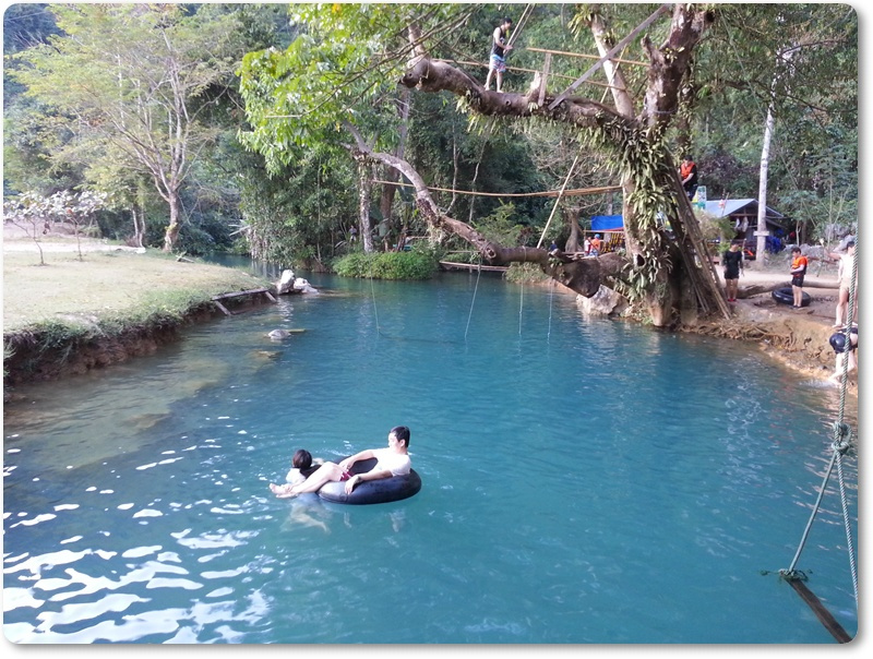 The Blue Lagoon Laos 1
