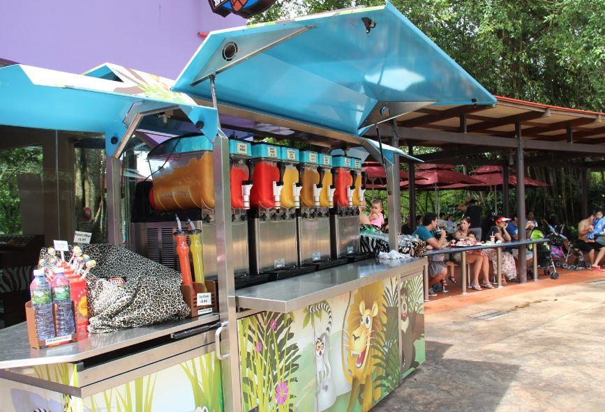 Singapore zoo restaurant