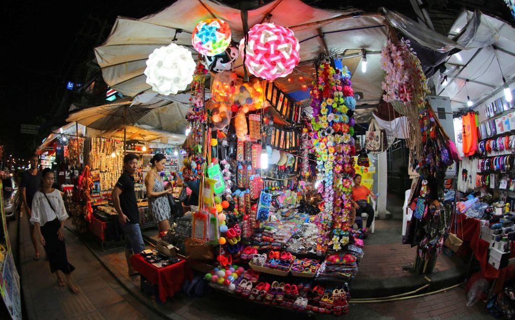 Phuket weekend night market or Naka market phuket