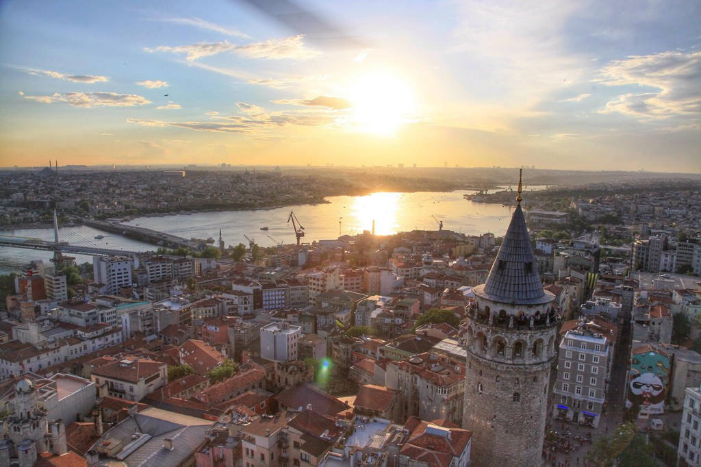 Galata Tower - the tallest ancient tower in the city.