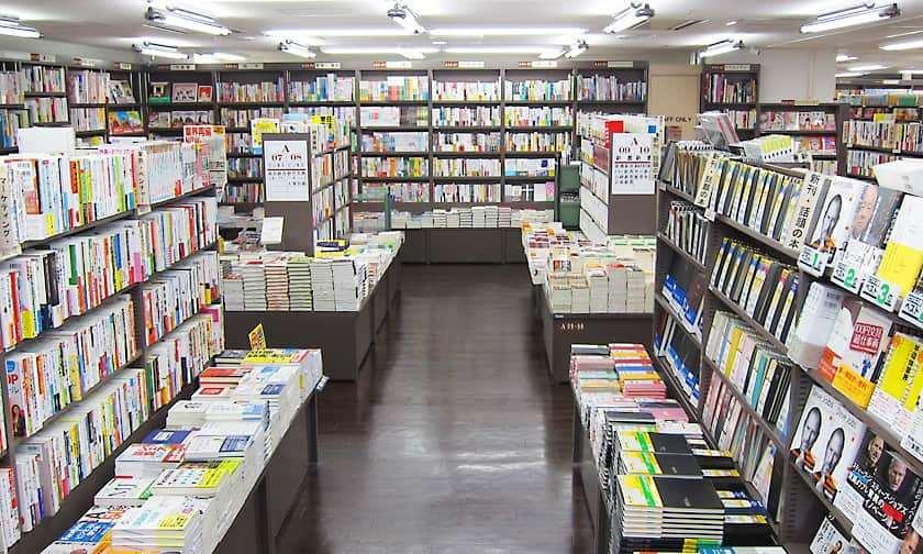 Sanseido book store Image by: Jimbocho Tokyo blog.