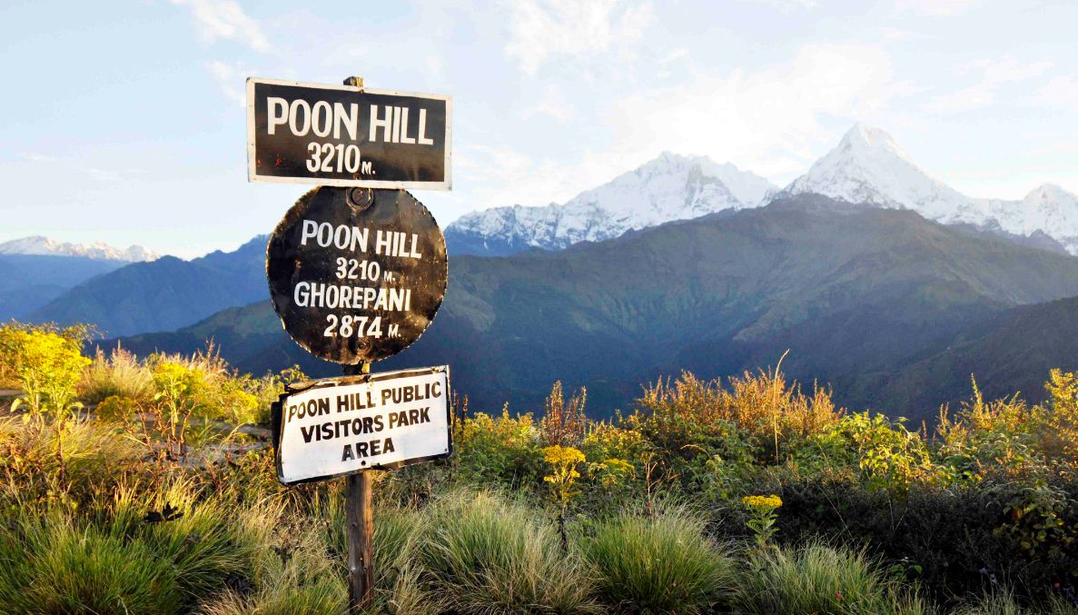 Foto: poon hill trekking route blog.