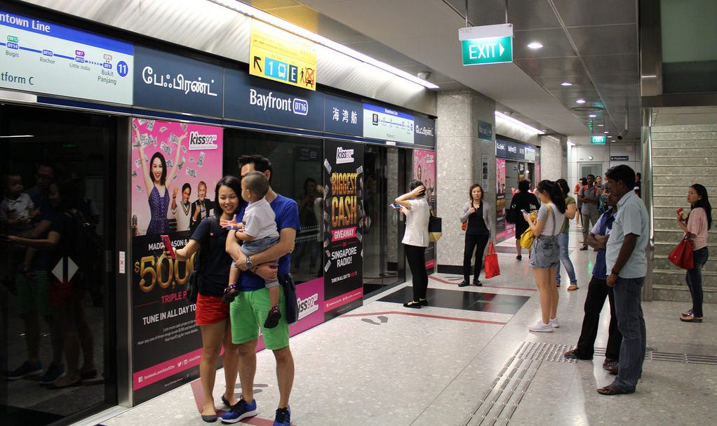 singapore mrt Credit image: singapore blog.