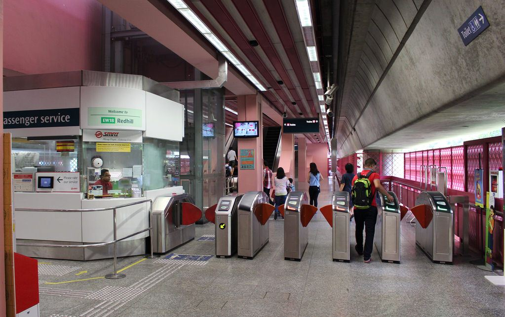Singapore MRT: Redhill station