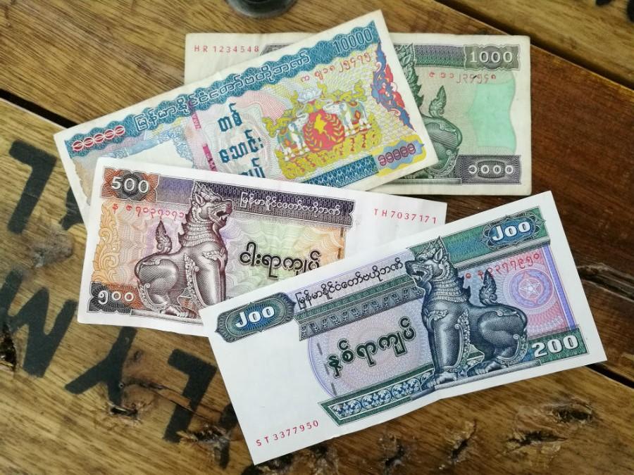 Myanmar-Kyat