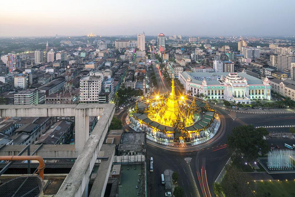 Sule Pagoda 3 days in yangon yangon itinerary