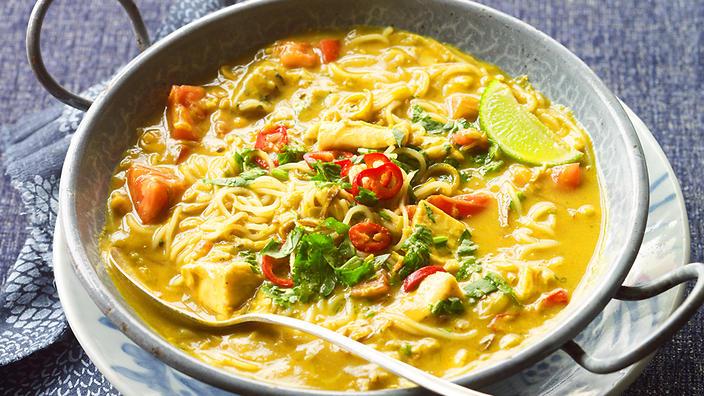 mohinga-noodle-soup 3 days in yangon yangon itinerary