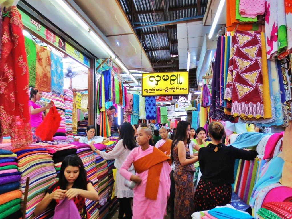 Bogyoke Aung San Market7