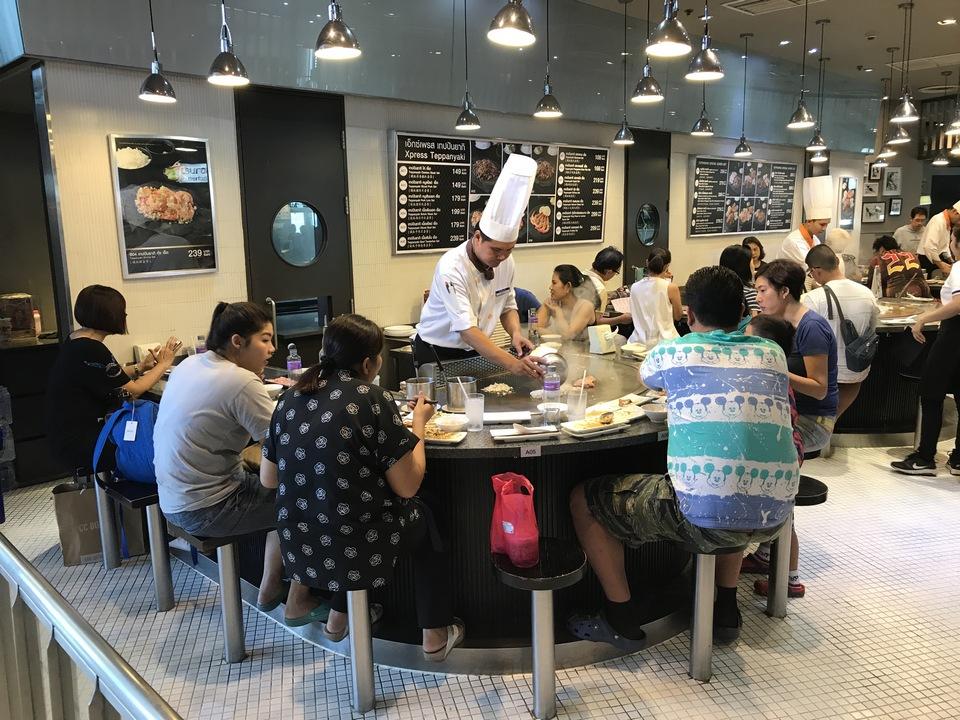 Food Republic food court at Mega Bangna bangkok
