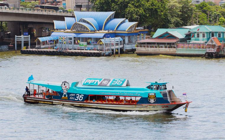 chao phraya green flag express boat 2