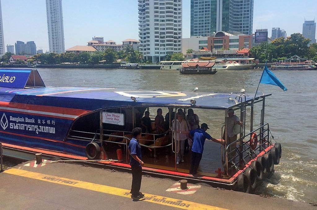chao phraya green flag express boat