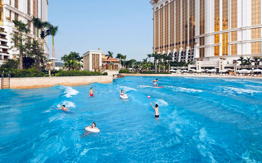 Grand Resort Deck at Galaxy Macau hong kong amusement park best amusements parks in hong kong