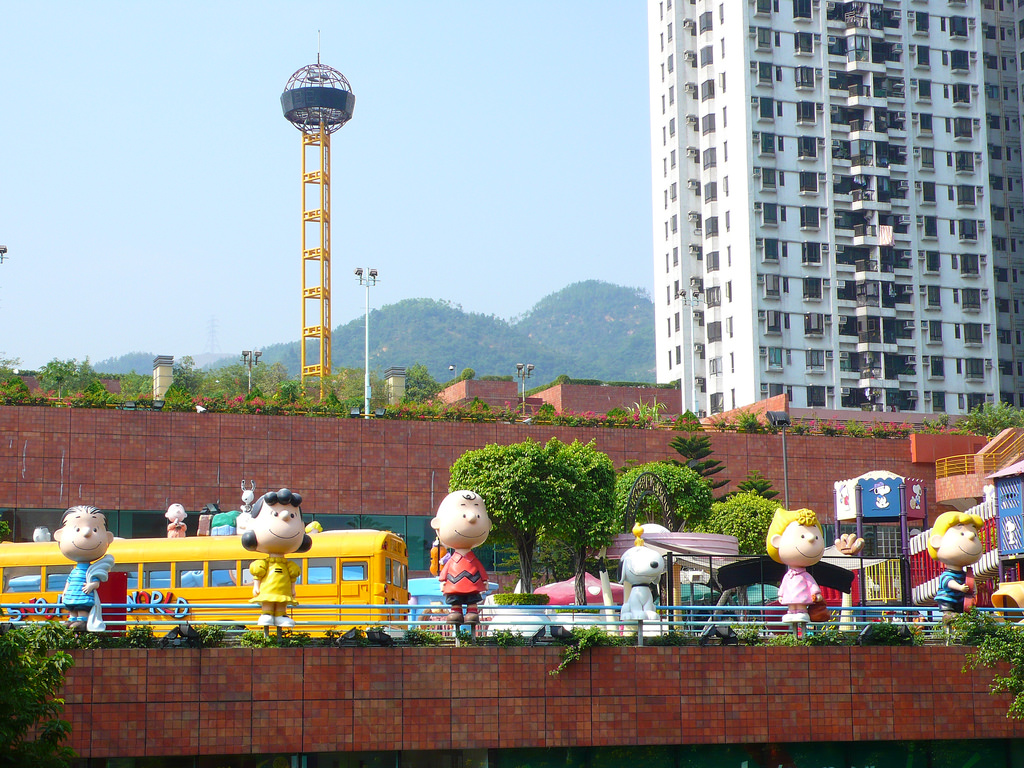 Snoopy 's World hong kong amusement park best amusements parks in hong kong