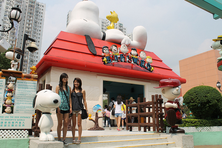 Snoopy's World4
