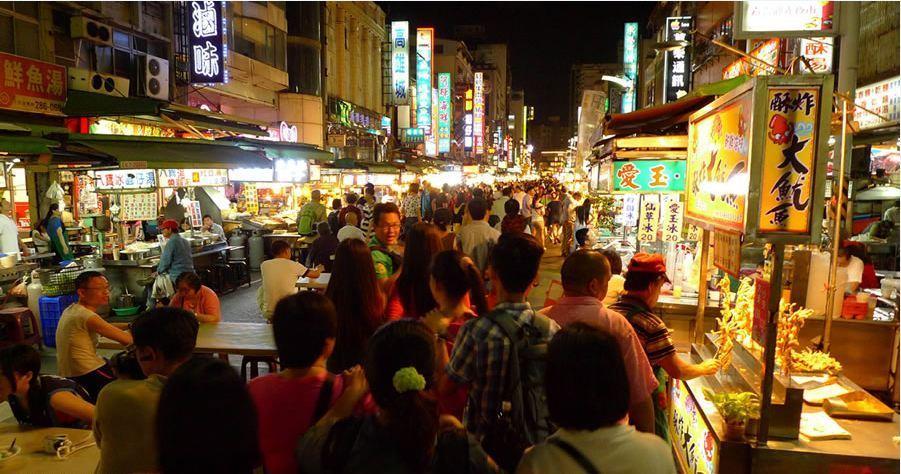 ruifeng-night-market-in-taiwan Photo by: taiwan budget trip itinerary blog.