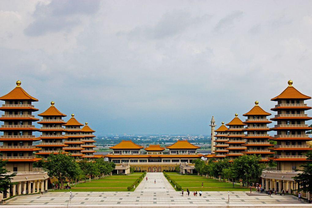 Kaohsiung Taiwan's Fo Guang Shan Buddhist Monastery