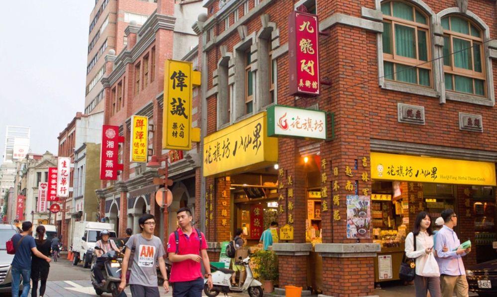 Dadaocheng old city taipei (1)