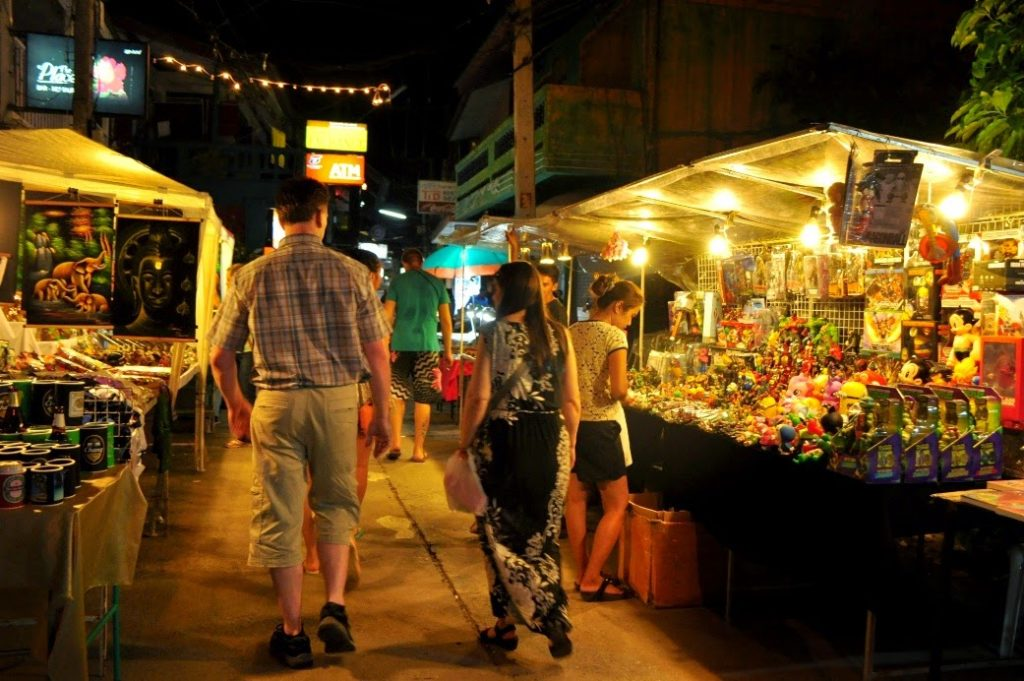 Koh samui walking street