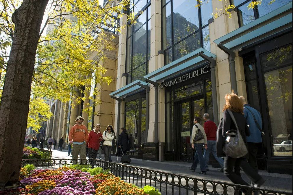 Magnificent Mile shopping street