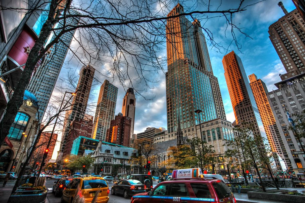 "If it's shopping you want, go to the ""Magnificent Mile"" a trendy section of Michigan Avenue."