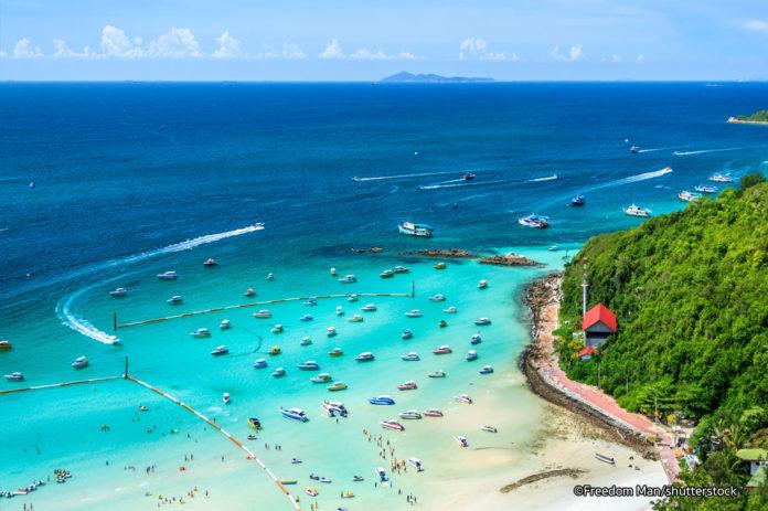 coral-island-pattaya islands near bangkok