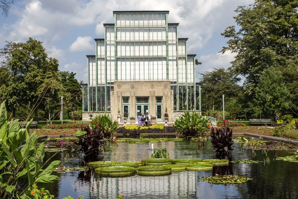 Jewel Box in Forest Park in St. Louis